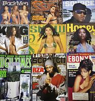9 Misc Black Men Magazines Hip Hop Culture Rap Booty