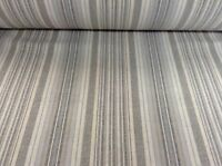 Wiltshire Flax Linen Blend Smoke Grey 140cm wide Curtain/Upholstery Fabric