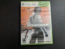 Remember Me Capcom Microsoft Xbox 360 BRAND NEW SEALED!
