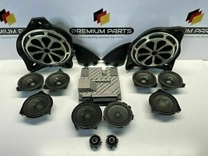 MERCEDES E CLASS W213 SALOON COMPLETE BURMESTER SOUND SYSTEM WITH SUBS + AMP
