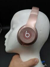 Rose Gold Beats Solo Wireless On-Ear Headphones - Works but SOLD-AS-IS -Read