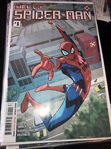 WEB of Spider-Man #1 (2021) NM 9.4  W.E.B. 1st Harley Keener Disney Ride