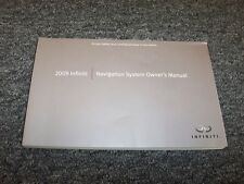 2009 Infiniti QX56 M35 M45 FX35 EX35 G37 Navigation System Owner Operator Manual