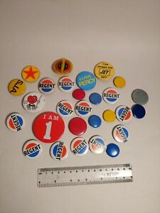 Vintage 50-70s Badge Collection