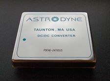 Astrodyne Fdc40-24T0515 40W Dc/Dc Converter: 24V In, 5V Out, +/-15V Out