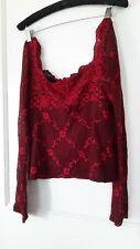 Vintage Victoria's Secret Lace Blouse- Moda International-Size M
