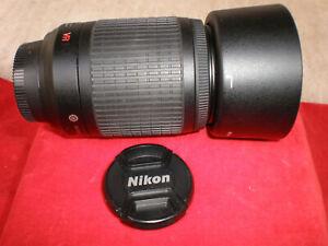 Nikon AF-S Nikkor 55-200mm f/4.0-5.6 IF-ED Lens Excellent New Working Condition