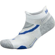 Balega UltraGlide No Show Running Socks - White/Midgray