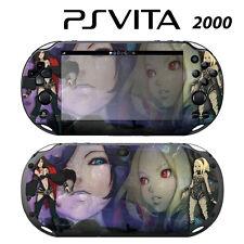Vinyl Decal Skin Sticker for Sony PS Vita Slim 2000 Gravity Rush 2