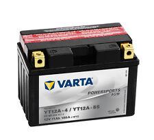 VARTA YT12A-BS 12V 11Ah AGM Motorradbatterie 512901014 12 V 11 Ah YT12A-4  OVP