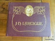 Boyhood Photos of J.H. Lartigue Book~The Family Album of a Gilded Age~1966