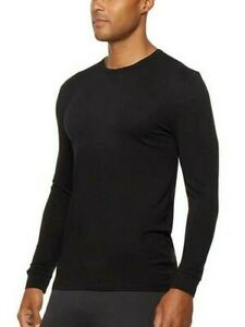 NWT Men's 32 Degrees Heat Crew Neck Long Sleeve Base Layer T-Shirt - 2 Pack