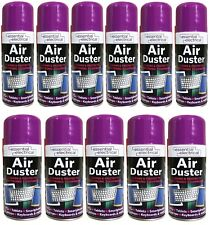 6 X 400 ML COMPRESSED AIR PRESSURE DUSTER SPRAY CAN CLEANS PROTECTS KEYBOARDS