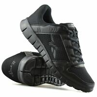 Mens Casual Lace Up Walking Running Jogging Sports Gym Work Trainers Shoes Size