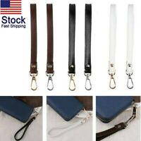 Genuine Leather Wrist Strap With BuckleHands-Free Wristlet for Purse Wallets USA