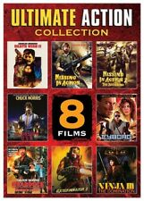 Ultimate Action Collection - 8 Films (DVD) Invasion U.S.A., Cyborg & 6 more. New