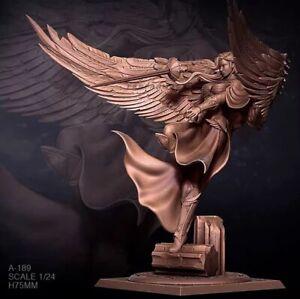 75mm Angel soldier swordsman self-assembled Model Resin Figure