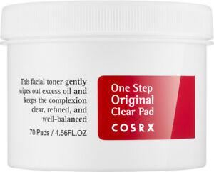 Cosrx One Step Original Clear Pad 70 Pads 4.56 oz   nib fresh sealed