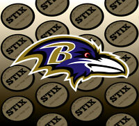 Baltimore Ravens Logo NFL Die Cut Vinyl Sticker Car Window Laptop Wall Decal