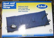 Scholl heat and massage wrap