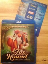 The Fox and the Hound/The Fox and the Hound II (Blu-ray,2017,2-Disc)Authentic US