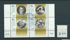 wbc. - AUSTRALIA - B44 - 1998 - OLYMPIC LEGENDS - s/t block of four  used