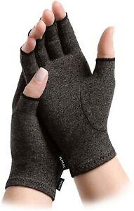 Arthritis Hand Compression Gloves Fingerless Typing Mittens Carpal Tunnel Brace