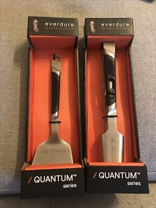 Spatula 230 mm And Tongs 265mm Everdure by Heston quantum series