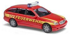 """Busch 1/87: 49174 Mercedes C-Klasse T-Modell """"Feuerwehr"""" - Gießen"""