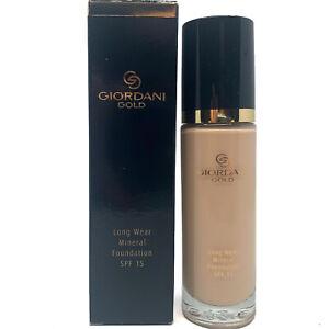Oriflame Giordani Gold Long Wear Mineral Foundation Porcelain SPF 15 1.0 fl.oz