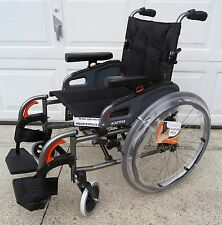 New No Box Karma KM8522 Flexx Q24 Manual Wheelchair KM 8522 Lightweight Seat