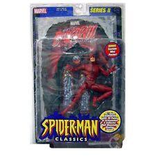 "Marvel Comics  Legends SPIDERMAN CLASSICS Daredevil 6"" figure RARE + THE BEST!"
