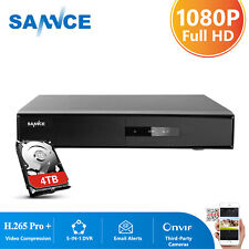 SANNCE 16CH 5in1 HD 1080P HDMI Video Recorder DVR Surveillance Security System