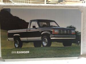 1991 FORD RANGER, SHOWROOM DEALER POSTER