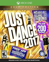 NEW Just Dance 2017: Gold Edition (Microsoft Xbox One, 2016)