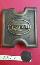 Brass Belt Buckle Anson Mills Old Reliable 9th Infantry Military Style