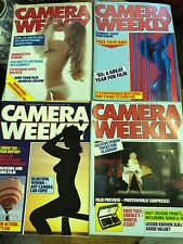 Four Camera Weekly magazines April 1985