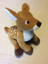 "Ganz Webkinz Fawn Deer Plush HM331 Stuffed Toy Animal 9"" No Code"
