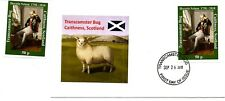 Transcamster Bog, Admiral Horatio Nelson mint stamp + first day cover