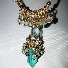 Ladies Jumka Earrings Dangle Jumki Jhumka Traditional Drop Blue Stone 1119