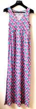 UNIT Kleid Gr XL Rosa Freizeitkleid Strand Sommer Ärmellos Maxikleid Bodenlang