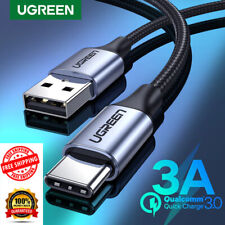 Ugreen USB C Charger Cable Type C 3A Fast Charging Cord for Samsung Redmi Huawei