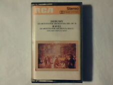 JUILLIARD STRING QUARTET Debussy: Quartetto per archi Ravel mc cassette k7 NUOVA