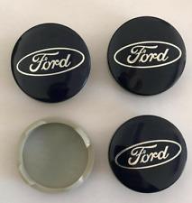 Set 4 coppette Tappi Coprimozzo 54mm Ford Focus Fiesta Mondeo per cerchi in lega