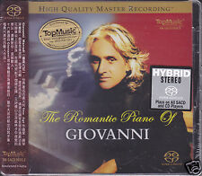 """The Romantic Piano of GIOVANNI"" Limited Numbered Stereo Hybrid SACD DSD CD New"