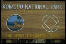446017 signo Komodo Parque Nacional A4 Foto Impresión
