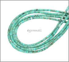 Chinese Turquoise Heishi Rondelle Seed Beads ap.2.3mm Grade A #82146