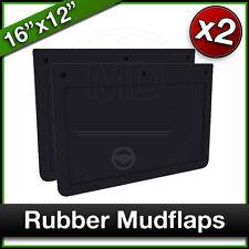 """RENAULT TRUCK RUBBER MUDFLAP 20/"""" X 12/"""" PLAIN BLACK SINGLE 508 X 305MM"""