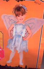 NEW! BLUE PIXIE with wings  Costume PLUS 10 1/2-12 1/2