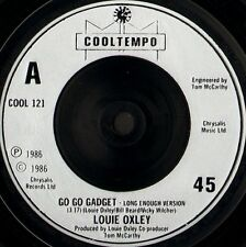 "LOUIE OXLEY go go gadget 7"" WS EX/- uk cooltempo COOL 121"